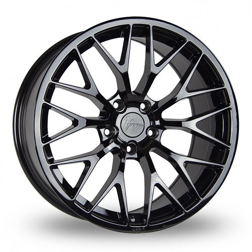 1FORM Edition 1 Gloss Black  18 Inch Set of 4 alloy wheels