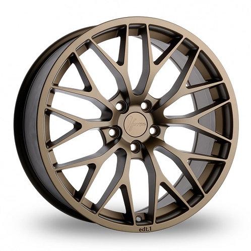 1FORM Edition 1 Matt Bronze  18 Inch Set of 4 alloy wheels