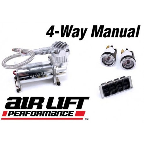Air Lift Performance 4-Way Manual Management Package