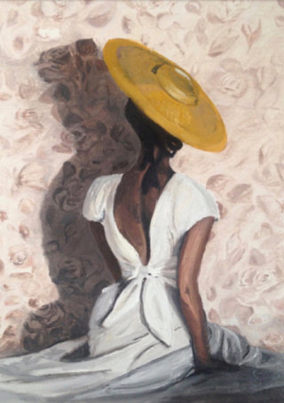 Woman in the White Study  Collection Les Femmes - In a Moment 2019