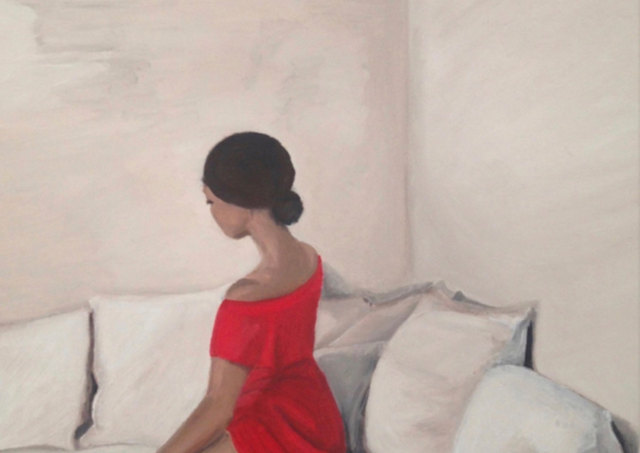 Woman in Red Study  Collection Les Femmes - In a Moment 2019