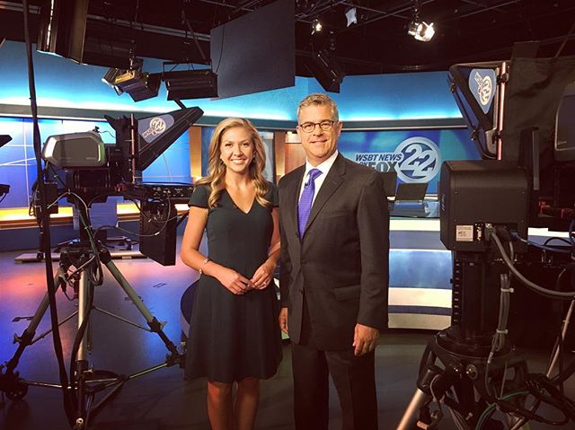Your WSBT 22 news team at 10 and 11! 📺