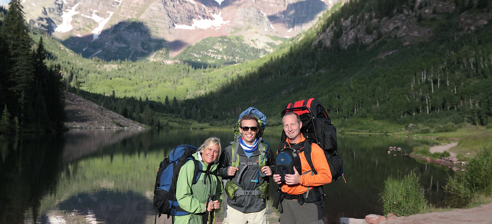 Backpacking the Maroon Bells