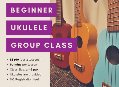 Strum to your heart's content at our Beginner Ukulele Group Class!