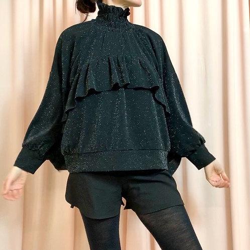 Black Shimmer Cloud jumper
