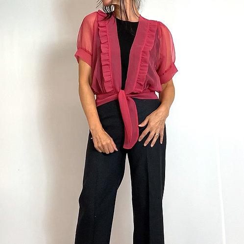 translucent blouse