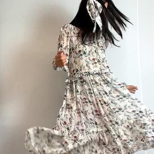 marshflower midi dress