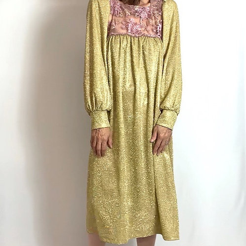 Golden Belle dress