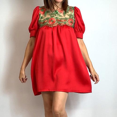 Red Belle mini dress