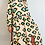 Thumbnail: Pink Tile Print Maxi Dress With Frill Detail