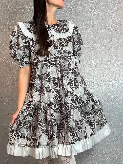 Liberty print tea dress