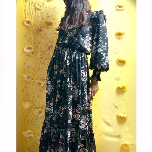 Floral Panthera dress
