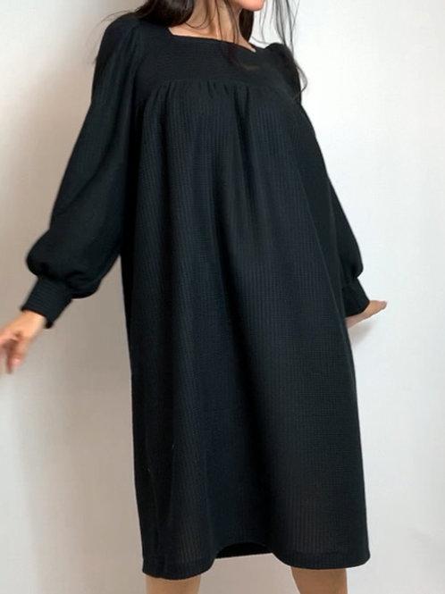 Black Rib Tinker dress