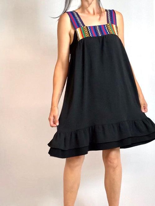 Peru frill dress