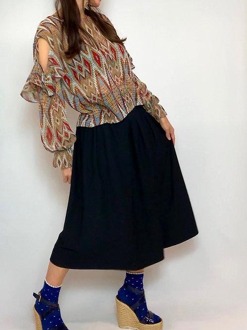 Tan Cowgirl blouse