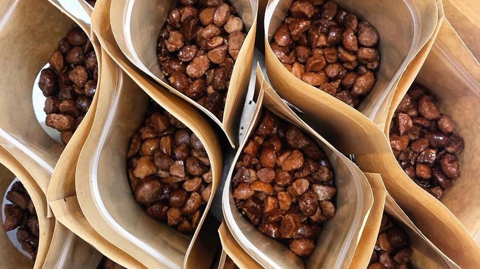 Candied Big Island Mac Nuts