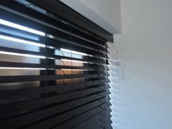 50mm gloss black wood
