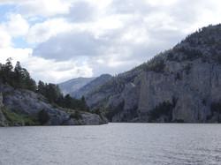 Mountain Views of Missouri River