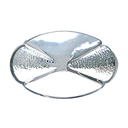 Centro de mesa oval