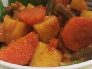 Lauren's Creamy Vegetable Curry