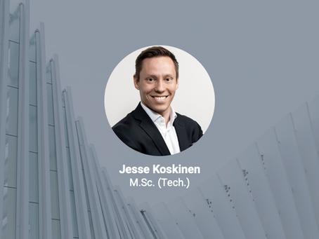 Jesse Koskinen (M.Sc.) projektipäälliköksi