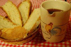 Pane e vino pugliesi