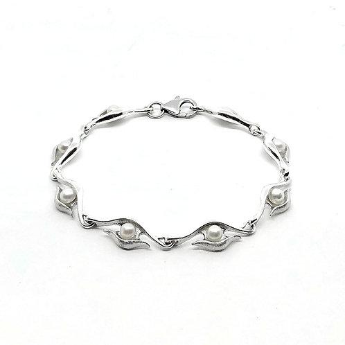 Bracelet doux regard avec perle
