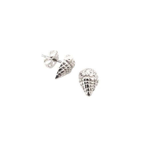 Boucles d'oreilles cornet de neige