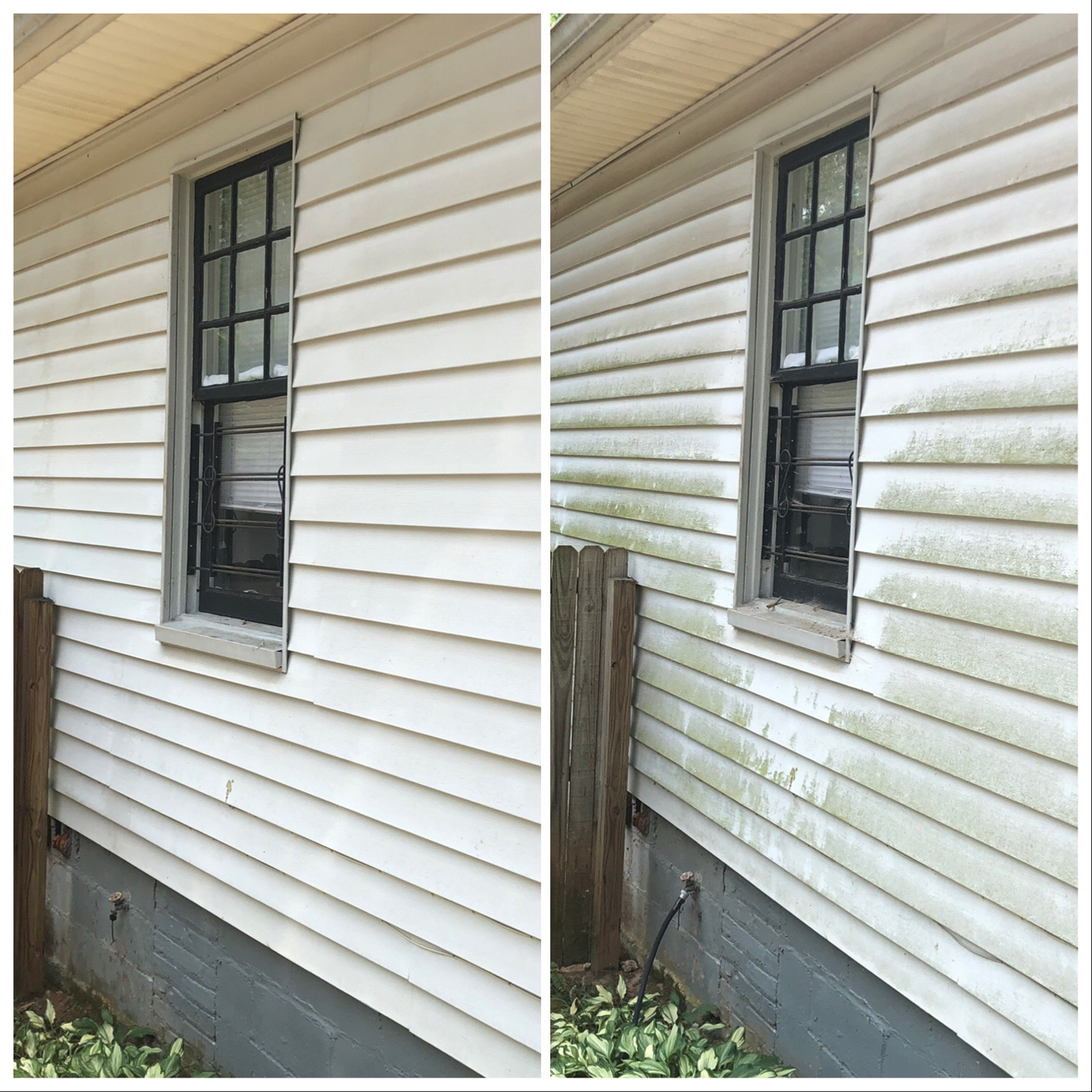 Soft-pressure residential siding cleaner