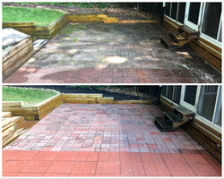 Patio and brick cleaning