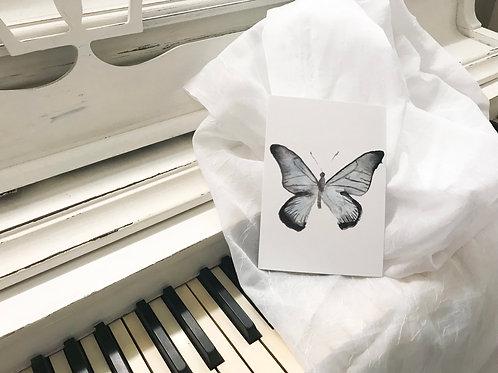 5x7 Blue Butterfly