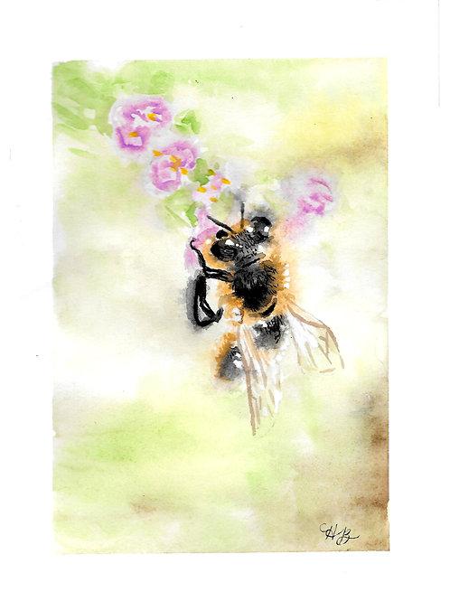5.5x4.25 Card-Bumblebee