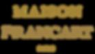 Maison Francart Logo Gold