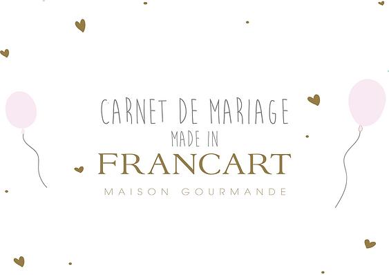 Maison Francart Carnet de mariage