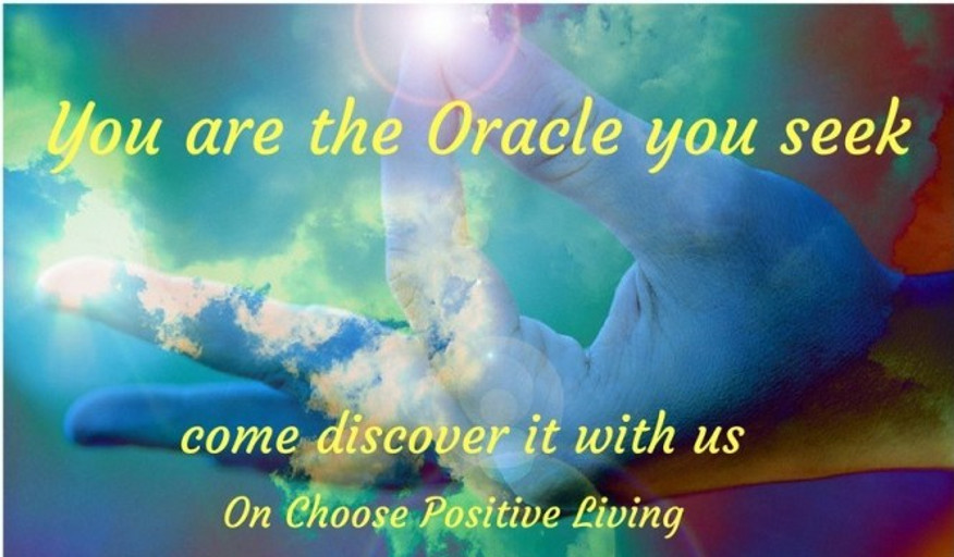 You are the Oracle you seek