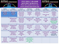 Astral Calendar July 2013