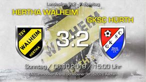 TSV Hertha Walheim - GKSC Hürth 3:2