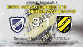 Nik Herceg hält Walheims U18 lange im Spiel