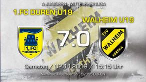 U19 von Hertha Walheim erlebt Debakel beim 1.FC Düren