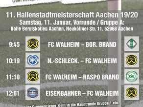 11. Aachener Hallenstadtmeisterschaft 2020
