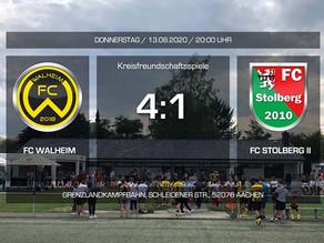 FC Walheim entscheidet Testspiel für sich