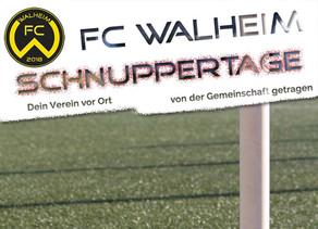 FC Walheim - Schnuppertage