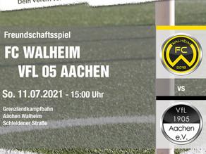 Walheims Erste startet mit Freundschaftsspiel gegen VFL 05 AC