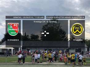 FC Walheim zu Gast beim FC Stolberg III
