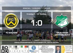 FC Walheim siegreich im Derby gegen Lichtenbusch II