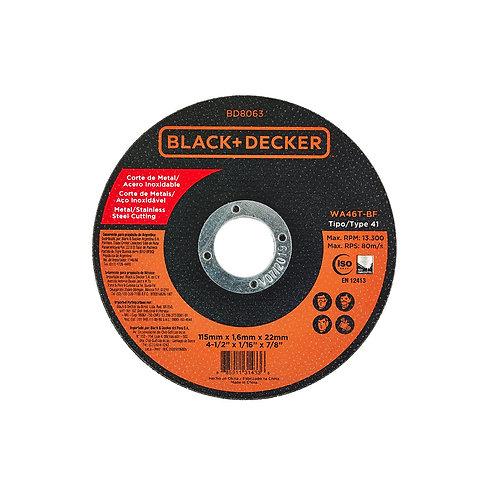 DISCO DE CORTE 115 MM X 1.6 MM