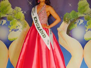Miss Earth - England 2018 isABBEY ANNE GYLES