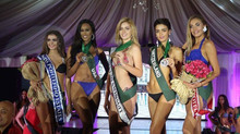 Richmond Centre, Miss Earth NI WINS special Swimwear Sponsor Award.