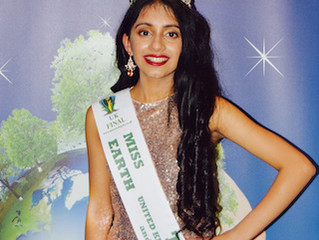 The NEW Miss Teen Earth UK 2019 is Pehrr Ramrakhyani proudly sponsored by Ayumi.