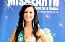 Ruby Saphia Bowater Miss Teen Earth UK 2011